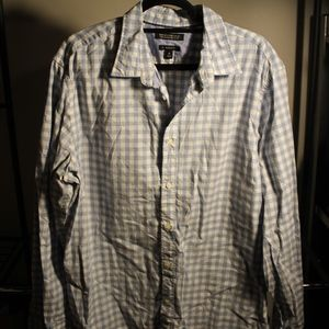 Men's Banana Republic Plaid Button Down